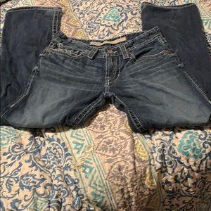Big star jeans size 30 r inseam 29
